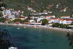 Skiathos island in Greece Stock Image
