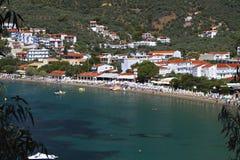 Skiathos island in Greece Stock Image