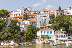 Skiathos island in Greece Royalty Free Stock Image