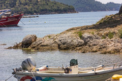Skiathos island in Greece Royalty Free Stock Images