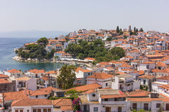 Skiathos island in Greece Stock Photos
