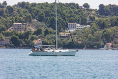 Skiathos island in Greece Stock Images