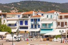 Skiathos island in Greece Stock Photos