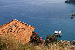 Skiathos island in Greece Royalty Free Stock Image