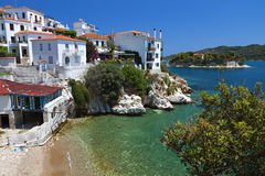Skiathos island in Greece Royalty Free Stock Photo