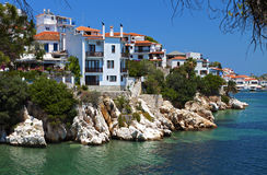 Skiathos island in Greece Royalty Free Stock Photography