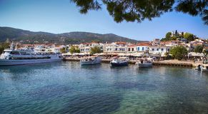 Free Skiathos Island In Greece Royalty Free Stock Photos - 120188948
