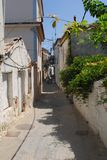 Skiathos miasteczko na Skiathos wyspie, Grecja Zdjęcia Stock