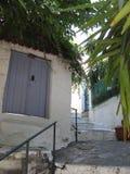 Skiathos no Mar Egeu imagens de stock royalty free