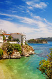 Skiathos Old Town, Greece Royalty Free Stock Images