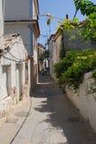Skiathos-Stadt auf Skiathos-Insel, Griechenland Stockfotos
