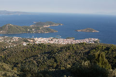 Skiathos Town Royalty Free Stock Images