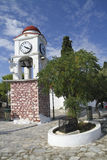 Skiathos town clock Stock Images