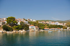 Skiathos Town (Greece) Royalty Free Stock Photos