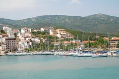 Skiathos Town, Greece Stock Photography