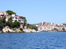 Skiathos Town, Skiathos, Greece. Stock Image