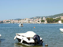 Skiathos town, Skiathos, Greece. Royalty Free Stock Photos