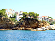 Skiathos Town, Skiathos, Greece. Royalty Free Stock Images