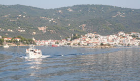 Skiathos Town Royalty Free Stock Photo