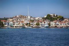 Skiathoseiland in Griekenland royalty-vrije stock foto's
