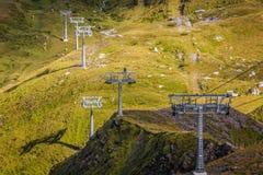 Skiaufzug Lizenzfreies Stockbild