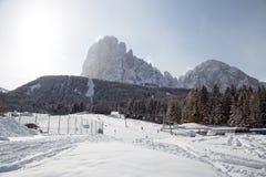 Skiaufzug in den Bergen Lizenzfreie Stockfotografie