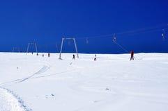 Skiaufzug instalation Lizenzfreie Stockfotografie