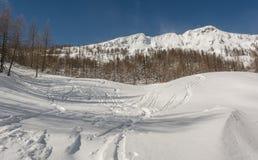 Skibahnen Lizenzfreie Stockfotografie