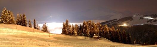 Skibereich Stockbild