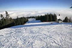 Skibereich stockfoto