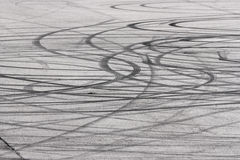 Skid marks backgounds Stock Photo