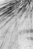 Skid marks Stock Photography