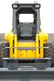 Skid steer front loader. Machine at construction site Royalty Free Stock Photos