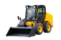 Skid steer loader Royalty Free Stock Photos
