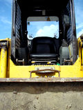 Skid steer loader. Front view Stock Photo