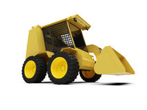 Skid steer loader stock illustration
