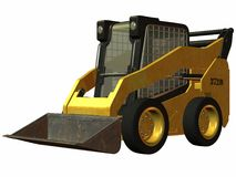 Skid Steer Loader Stock Photos