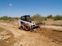 Skid Steer Loader - Horizontal Royalty Free Stock Image