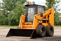 Skid steer loader outdoor Royalty Free Stock Photo