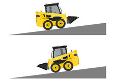 Skid steer loader safety Royalty Free Stock Photos