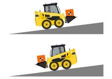 Skid steer loader safety Stock Photos
