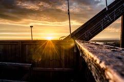 Skida-hopp torn Fotografering för Bildbyråer