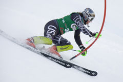 SKIDA: Lienz slalom Arkivfoto