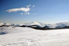 Skidar semesterorten Royaltyfria Bilder