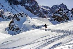 Skidar semesterorten Chimbulak Royaltyfri Fotografi