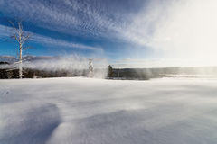 Skidar semesterorten Sun Valley Royaltyfri Foto