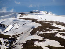 Skidar & snö 3 Royaltyfri Bild