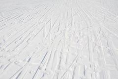 Skidar spår Arkivbilder