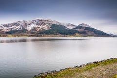 Skiddaw над озером Bassenthwaite Стоковые Изображения RF