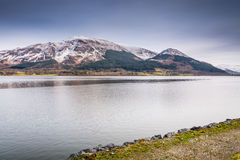 Skiddaw above Bassenthwaite Lake Royalty Free Stock Images